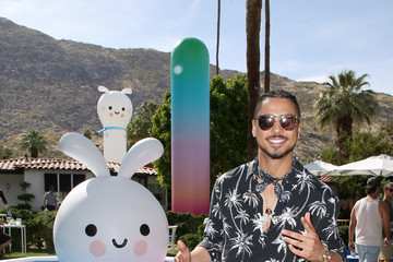 Quincy Brown American Express Platinum House at the Avalon Hotel Palm Springs