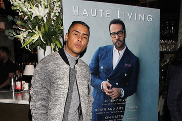 Quincy Brown Hublot Celebrates Jeremy Piven's Haute Living New York April/May Cover
