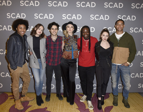 "SCAD aTVfest 2020 - ""Legacies"" [social group,youth,event,fashion,cool,footwear,team,performance,jeans,brent matthews,quincy fouse,chris lee,jenny boyd,aria shahghasemi,kaylee bryant,peyton alex smith,julie plecdanielle rose russell,legacies,scad atvfest,public relations,fashion,social group,youth,socialite,energy,flooring,efficient energy use,television,public]"