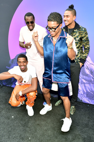 Revolt And AT&T Host Revolt 3-Day Summit In Atlanta – September 14 [white,blue,social group,fashion,youth,fun,eyewear,human,performance,photography,sean ``diddy combs,christian combs,justin combs,quincy,revolt,atlanta,georgia,at t,host revolt,at t summit]