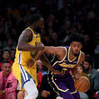 Quinn Cook Golden State Warriors vs Los Angeles Lakers