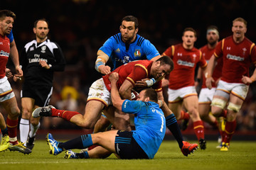 Quintin Geldenhuys Wales v Italy - RBS Six Nations