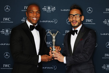 Quinton Fortune Laureus Winners Press Conference — Part 2