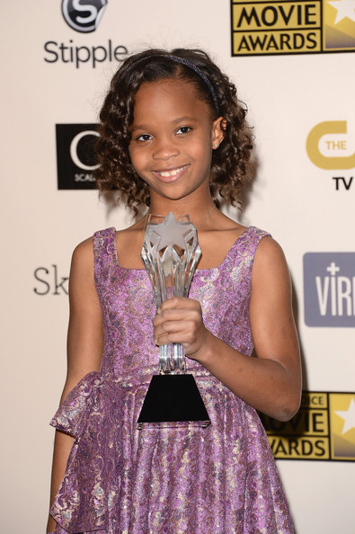 Quvenzhane Wallis - 18th Annual Critics' Choice Movie Awards - Press Room