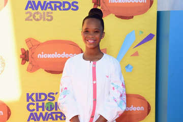 Quvenzhane Wallis Nickelodeon's 28th Annual Kids' Choice Awards - Arrivals