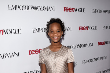 Quvenzhane Wallis 12th Annual Teen Vogue Young Hollywood Party With Emporio Armani