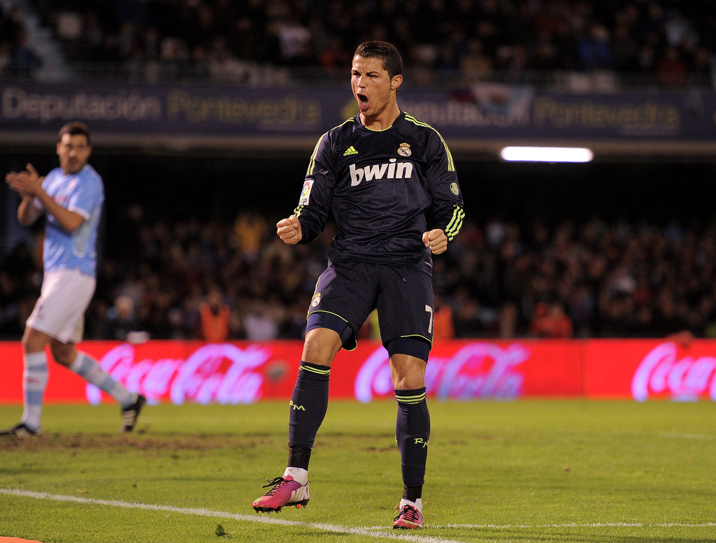 check out da308 33ea2 Cristiano Ronaldo Photos Photos - RC Celta de Vigo v Real ...