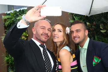 Rachael Finch Celebrities Attend Melbourne Cup Day
