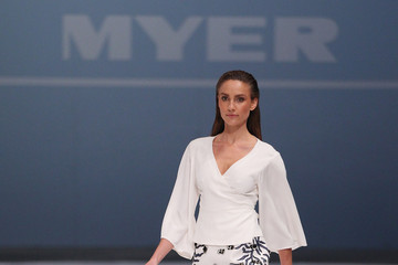 Rachael Finch Myer Spring 2015 Fashion Launch - Rehearsal