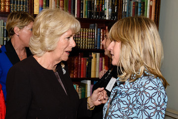 Rachel Johnson The Duchess of Cornwall Hosts Reception For WOW