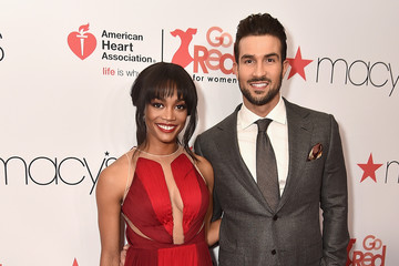Rachel Lindsay The American Heart Association's Go Red For Women Red Dress Collection 2018 Presented By Macy's - Arrivals & Front Row