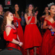 Rachel Smith The American Heart Association's Go Red For Women Red Dress Collection 2020 - Backstage