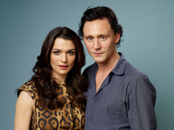 "Rachel Weisz Actress Rachel Weisz and actor Tom Hiddleston of ""The Deep Blue Sea"" pose during the 2011 Toronto Film Festival at Guess Portrait Studio on September 11, 2011 in Toronto, Canada."