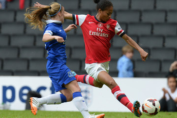 Rachel Yankey Everton Ladies v Arsenal Ladies - FA Women's Cup Final