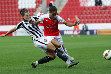 Rachel Yankey Arsenal Ladies FC v Notts County Ladies: WSL Continental Cup Final