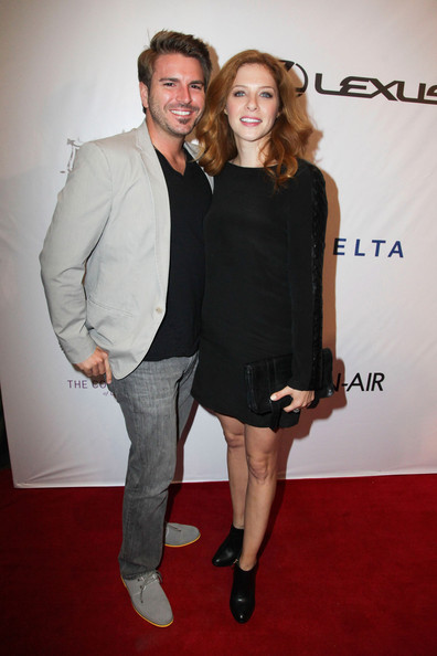 Rachelle Lefevre Rachelle Lefevre (R) and guest attend the Festa Italiana with Giada de Laurentiis opening night celebration of the third annual Los Angeles Food & Wine Festival on August 22, 2013 in Los Angeles, California.