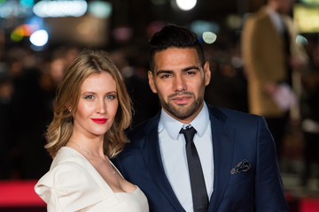 Radamel Falcao Lorelei Taron 'Ronaldo' - World Premiere - Red Carpet Arrivals
