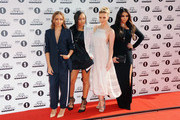 (L-R) Jade Thirlwall, Leigh-Anne Pinnock, Perrie Edwards and Jesy Nelson of Little Mix  attend the Radio One Teen Awards at Wembley Arena on October 19, 2014 in London, England.