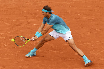 Rafael Nadal 2016 French Open - Day Three