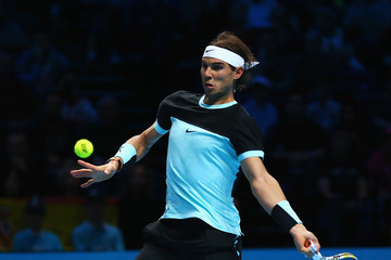 Rafael Nadal Barclays ATP World Tour Finals - Day Two