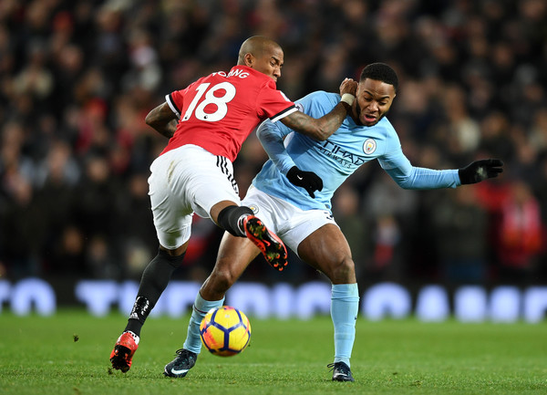 Image result for raheem sterling vs man united