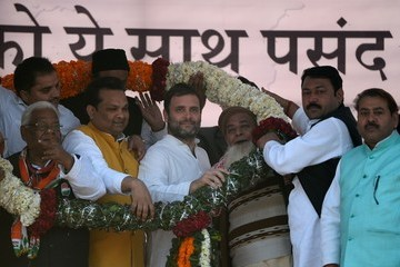 Rahul Gandhi Campaign for State Assembly Elections in India