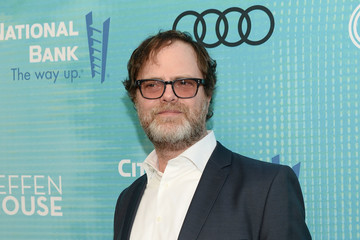Rainn Wilson Backstage At The Geffen