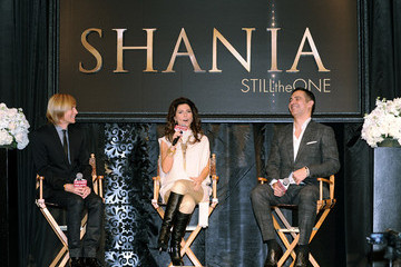 "Raj Kapoor ""Shania: Still The One"" Press Conference"