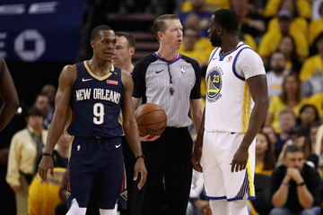 Rajon Rondo New Orleans Pelicans vs. Golden State Warriors - Game Five