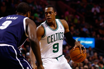 Rajon Rondo Oklahoma City Thunder v Boston Celtics