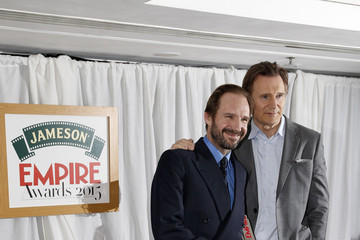 Ralph Fiennes Liam Neeson Jameson Empire Awards 2015