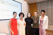 (L-R) Lisa Ling, Stephanie Allain, Zoe Lister-Jones, Catt Sadler, and Sanaa Lathan attend Ralph Lauren Fragrances x Women In Film Sisterhood Of Leaders Event on October 24, 2018 in Beverly Hills, California.