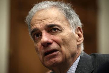 Ralph Nader Maxine Waters Leads Discussion in Washington