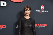 "Paz Vega attends the ""Rambo: Last Blood"" Screening & Fan Event at AMC Lincoln Square Theater on September 18, 2019 in New York City."