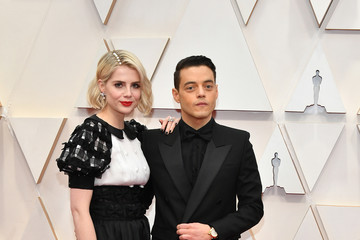 Rami Malek Lucy Boynton 92nd Annual Academy Awards - Arrivals