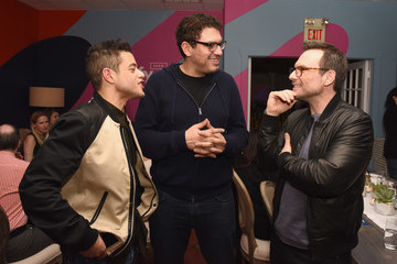 Rami Malek Sam Esmail Entertainment Weekly Celebrates Mr. Robot With Dinner At The Spotify House In Austin, TX During SXSW