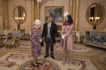 Rami Mortada Private Audience With the Queen at Buckingham Palace