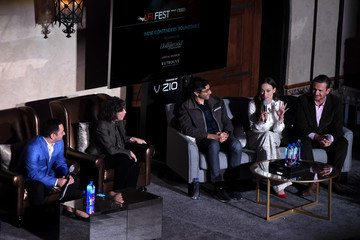 Ramin Bahrani AFI FEST 2015 Presented by Audi - Indie Contenders Roundtable Presented by the Hollywood Reporter
