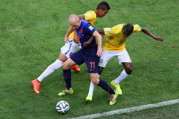 Ramires Brazil v Netherlands: 3rd Place Playoff - 2014 FIFA World Cup Brazil