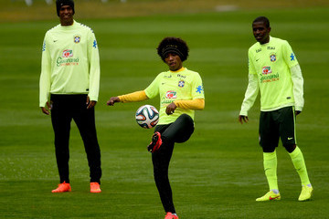 Ramires Brazil Training Session