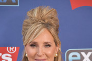 """Reality TV personality and Real Housewife of New York City Sonja Morgan visits """"Extra"""" at The Levi's Store Times Square on March 04, 2019 in New York City."""