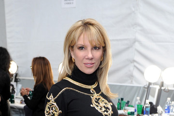 Ramona Singer Backstage at the Zang Toi Show