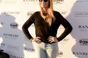 Reality TV star Heather Thomson attends the Ranbeeri Denim Launch Party Hosted By Ali Lohan at Jimmy At The James Hotel on August 4, 2015 in New York City.