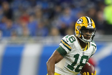 Randall Cobb Green Bay Packers vDetroit Lions