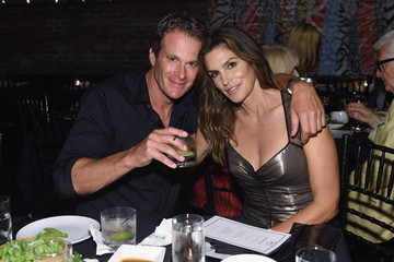 Rande Gerber Cindy Crawford, Ed Razek And Russell James Host Private Dinner Celebrating 'ANGELS' By Russell James Book Launch And Exhibit At TAO Downtown