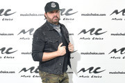Musician Randy Houser visits Music Choice on January 16, 2019 in New York City.