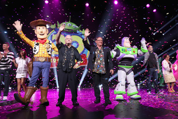 Randy Newman 'Pixar and Walt Disney Animation Studios: The Upcoming Films' Presentation At Disney's D23 EXPO 2015
