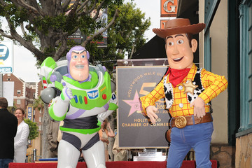 Buzz Lightyear Randy Newman Honored On The Hollywood Walk Of Fame