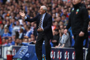 Walter Smith coach of Rangers issues instructions to his players during the Clydesdale Bank Premier League match between Rangers and Celtic at Ibrox Stadium on April 24, 2011 in Glasgow, Scotland.