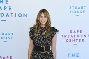 Elizabeth Olsen arrives at The Rape Foundation's 2019 Annual Brunch Benefiting Rape Treatment Center and Stuart House at Santa Monica-UCLA Medical Center on October 06, 2019 in Beverly Hills, California.